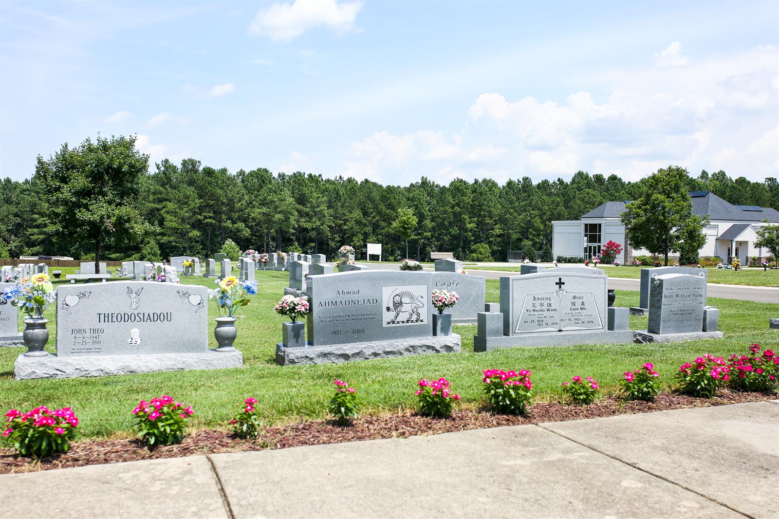 Glen Memorial Gardens Funeral Home Facilities Directions